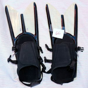 float tube force fins for backpackers