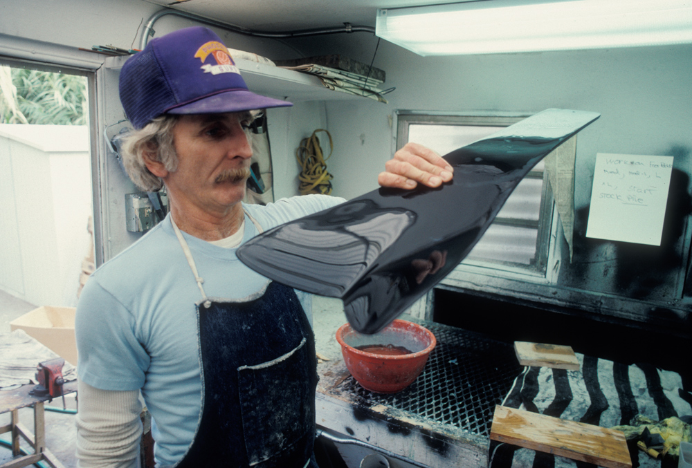 Shaping Force Fin, Jimmy Gray, Tool Shop