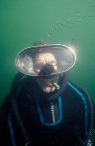 dick anderson underwater